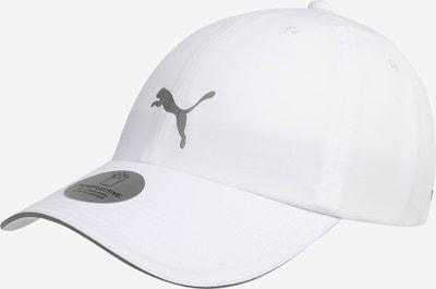 PUMA Спортна шапка 'Running III' в сиво / бяло, Преглед на продукта