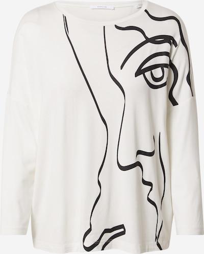 OPUS Pullover in schwarz / weiß, Produktansicht