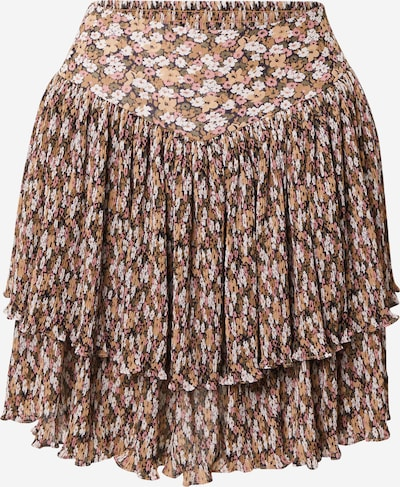Sofie Schnoor Rock in beige / camel / dunkelbraun / khaki / rosa, Produktansicht