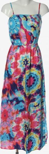 UNBEKANNT Sommerkleid in XS in blau / pastellgelb / rot, Produktansicht