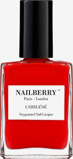 Nailberry Nail Polish 'L'Oxygéné Oxygenated' in Carmine red, Item view