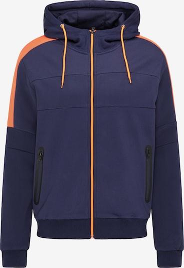 Giacca di mezza stagione Mo SPORTS di colore blu scuro / arancione neon, Visualizzazione prodotti