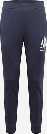 Pantaloni '8NZPPA' ARMANI EXCHANGE pe bleumarin / alb, Vizualizare produs