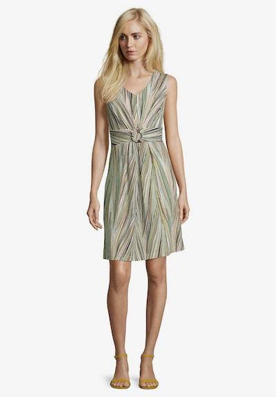 Betty Barclay Shirtkleid ohne Arm in beige / grün, Modelansicht