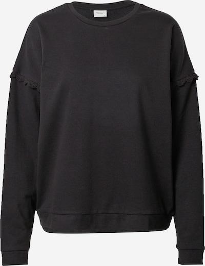 JDY Sweatshirt 'RIKKE IVY' in schwarz, Produktansicht
