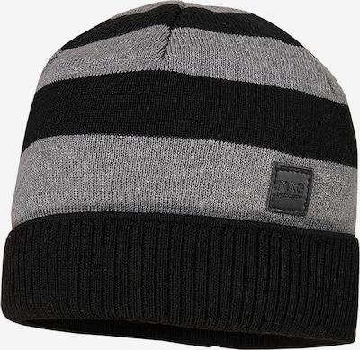 MAXIMO Mütze 'LEI' in grau / schwarz, Produktansicht