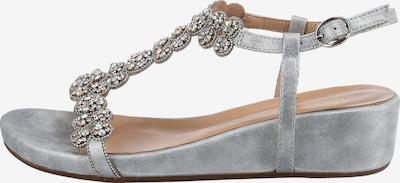 Alma En Pena Sandalette in silber, Produktansicht