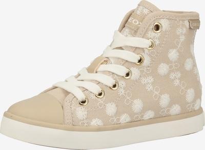 GEOX Sneaker in beige / dunkelbeige, Produktansicht