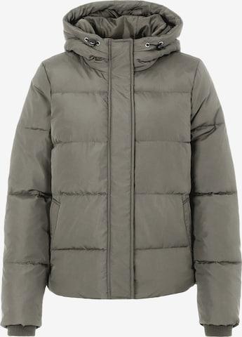 PIECES Between-Season Jacket in Green