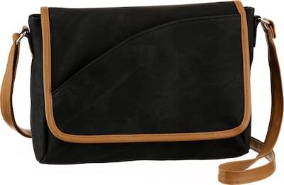 J. Jayz Umhängetasche in schwarz, Produktansicht
