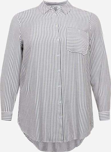 MY TRUE ME Bluse in grau / weiß, Produktansicht
