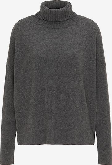 DreiMaster PREMIUM Pullover in dunkelgrau, Produktansicht