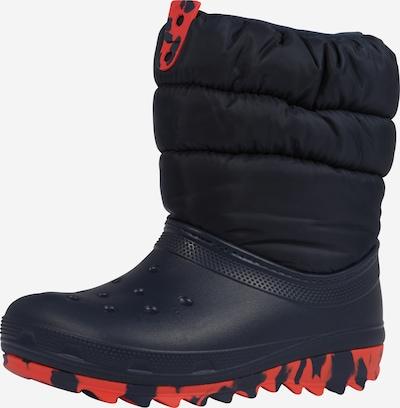 Crocs Stiefel in navy / rot, Produktansicht
