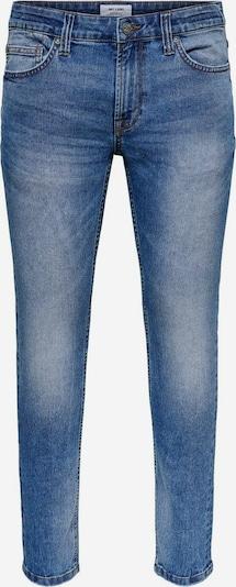 Only & Sons Jeans in de kleur Blauw, Productweergave