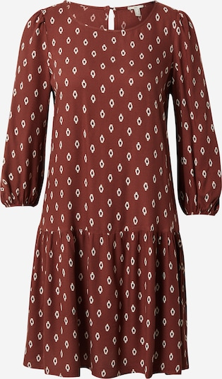 EDC BY ESPRIT Kleid in kirschrot / schwarz / weiß, Produktansicht
