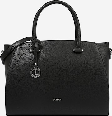 L.CREDI Handtasche 'Felicia' in Schwarz