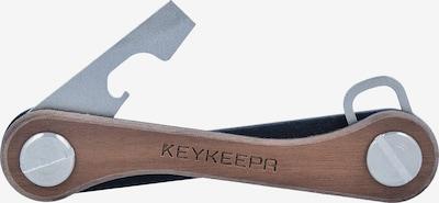 Keykeepa Schlüsselmanager in braun / silber, Produktansicht