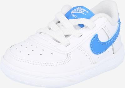 Nike Sportswear Tenisky 'Force 1 Crib' - svetlomodrá / biela, Produkt
