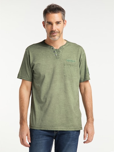 PIONEER T-Shirt in khaki: Frontalansicht