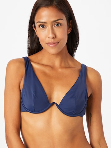 Hunkemöller Bikini Top in Blue