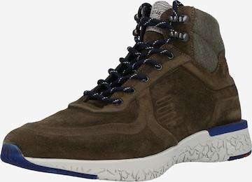 LLOYD Sneaker 'BAC' in Braun
