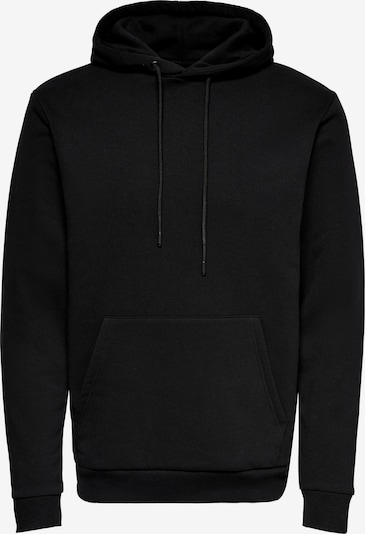 Only & Sons Sweatshirt 'ONSCERES LIFE HOODIE SWEAT NOOS' i svart, Produktvy