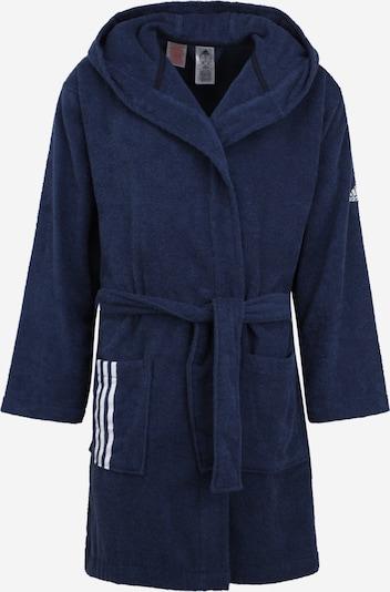 ADIDAS PERFORMANCE Sport badjas in de kleur Marine / Wit, Productweergave
