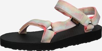 TEVA Sandale in azur / gelb / rosa, Produktansicht