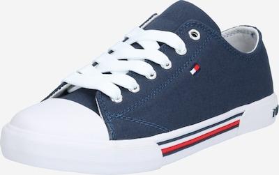TOMMY HILFIGER Sneaker in blue denim / weiß, Produktansicht