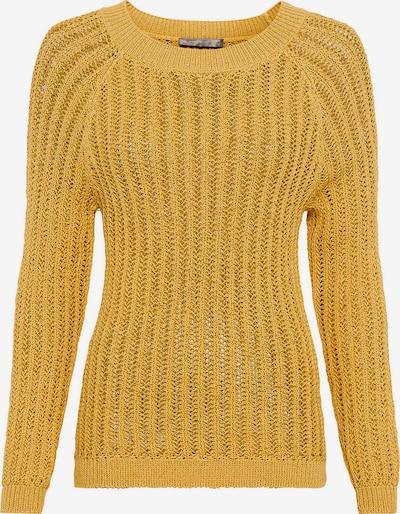 HALLHUBER Pullover in gelb, Produktansicht