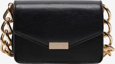 MANGO Ručna torbica 'Kayu' u zlatna / crna, Pregled proizvoda