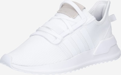 ADIDAS ORIGINALS Baskets basses 'U_Path Run Schuh' en blanc, Vue avec produit