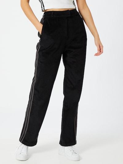Kelnės iš ADIDAS ORIGINALS , spalva - pilka / juoda, Modelio vaizdas
