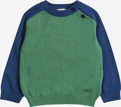 ESPRIT Trui in de kleur Blauw / Donkergroen, Productweergave
