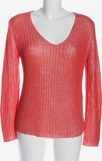 SIR OLIVER V-Ausschnitt-Pullover in M in rot, Produktansicht
