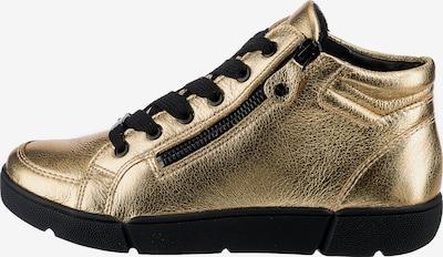 ARA High-Top Sneakers 'Rom' in Gold, Item view