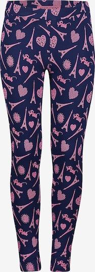 4PRESIDENT Leggings in dunkelblau / pink, Produktansicht