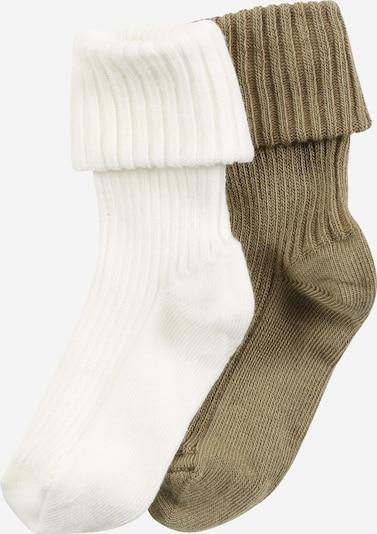 mp Denmark Socken in oliv / weiß, Produktansicht