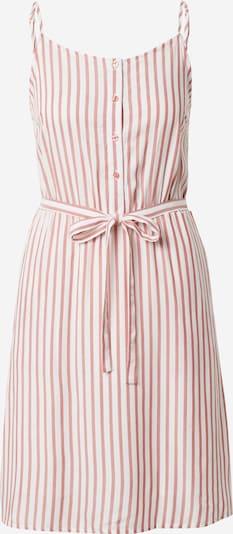 VILA Kleid 'HARPER' in rosé / weiß: Frontalansicht