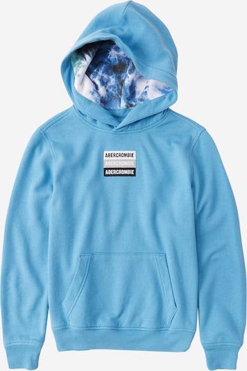 Abercrombie & Fitch Sweatshirt in himmelblau / schwarz / weiß, Produktansicht