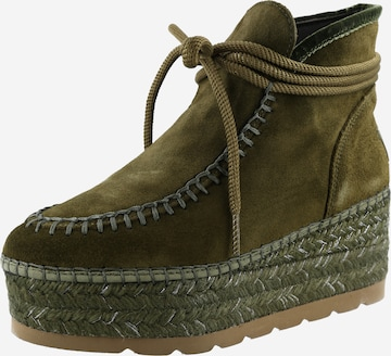 Vidorreta Ankle Boots 'Serraje' in Green