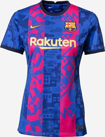 NIKE Toiminnallinen paita 'FC Barcelona 2021/22 Stadium Third' värissä sininen