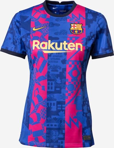 NIKE Funktionstopp 'FC Barcelona 2021/22 Stadium Third' i marinblå / royalblå / gul / mörkrosa, Produktvy