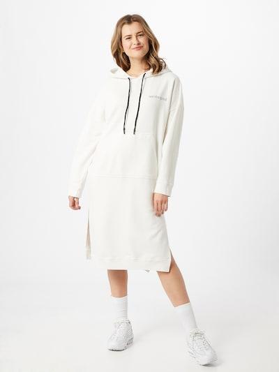 Karo Kauer Kleid in weiß, Modelansicht