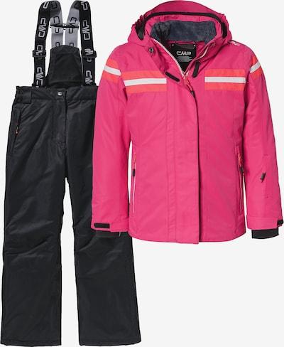 CMP Skiset in pink / schwarz, Produktansicht