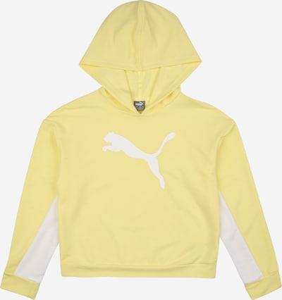 Felpa PUMA di colore giallo chiaro / bianco, Visualizzazione prodotti
