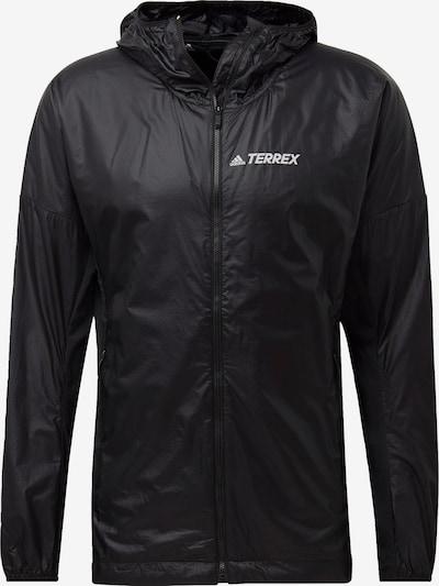 ADIDAS PERFORMANCE Sportjas 'TERREX Agravic Alpha' in de kleur Zwart, Productweergave
