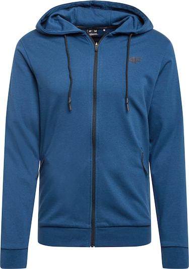 4F Sportsweatvest in de kleur Blauw / Zwart, Productweergave