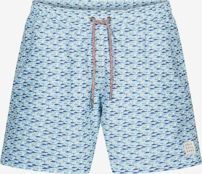 COLOURS & SONS Badeshorts Animal-Print SIMON in blau, Produktansicht
