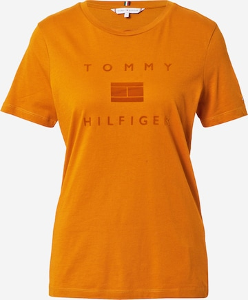 TOMMY HILFIGER Shirt in Orange